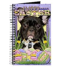 EasterEggCookiesFrenchBulldog Journal