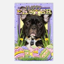 EasterEggCookiesFrenchBul Postcards (Package of 8)