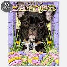 EasterEggCookiesFrenchBulldog Puzzle