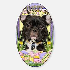 EasterEggCookiesFrenchBulldog Decal