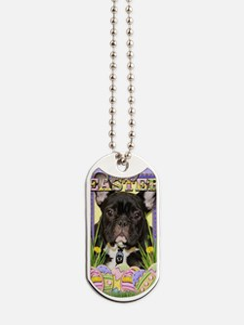 EasterEggCookiesFrenchBulldog Dog Tags