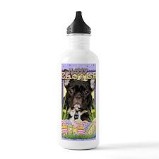 EasterEggCookiesFrench Water Bottle