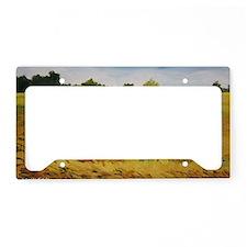 ks fields laptop template License Plate Holder