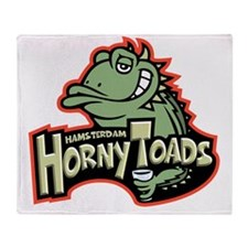 horny-toads-T Throw Blanket