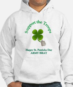 support the troops army brat Hoodie
