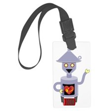 Tin Man Luggage Tag