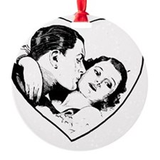 love_b+w Ornament