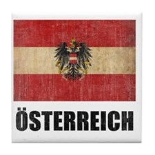 austria6 Tile Coaster