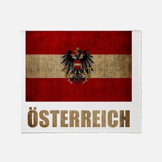 austria6Bk Throw Blanket
