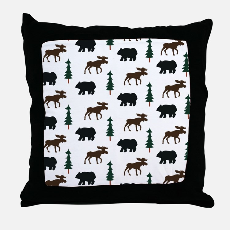 Bear Moose Pillows, Bear Moose Throw Pillows & Decorative Couch Pillows