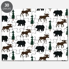 Bear and Moose Pattern Puzzle