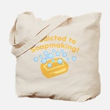 Addicted to Soap Craft Tote Bag