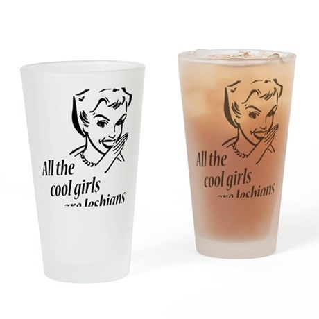 coolgirls Drinking Glass
