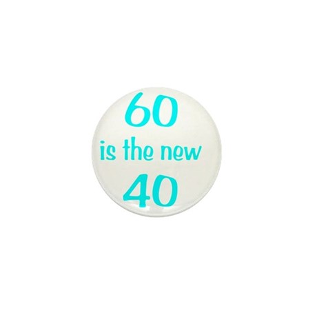 60New40wht Mini Button