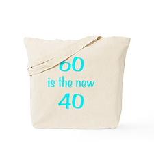 60New40wht Tote Bag