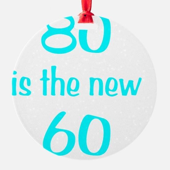 80new60Wht Ornament