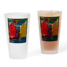 Beach Town Charm Drinking Glass