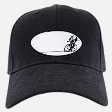 Cyclist Illustration Baseball Hat