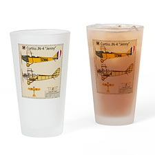 JennyArmyNoPilotBack Drinking Glass