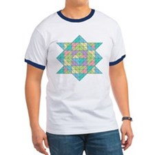 Ringer Abstract Turtel T-shirt