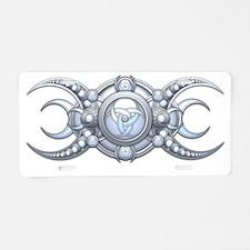 Triple Goddess - shield Aluminum License Plate