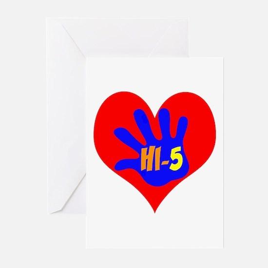 HI-5 Greeting Cards (Pk of 10)
