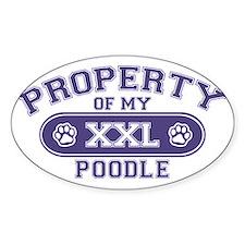 poodleproperty Decal