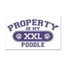 poodleproperty Rectangle Car Magnet