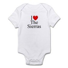 """""""I Love The Sierras"""" Infant Bodysuit"""