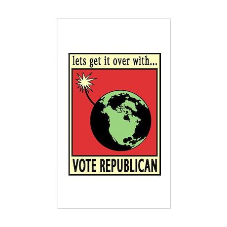 Pro environmental sticker