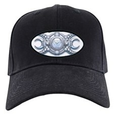 Triple Goddess - shield with dropshadow Baseball Cap