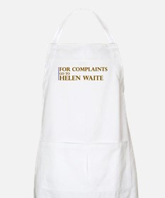 For Complaints Go to Helen Wa BBQ Apron