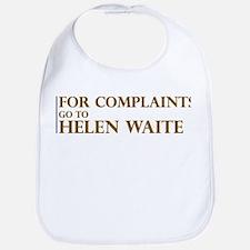 For Complaints Go to Helen Wa Bib