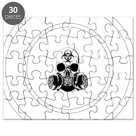 zombie outbreak tactical unit white 2 Puzzle