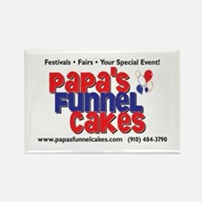 Papa's Funnel Cakes Rectangle Magnet