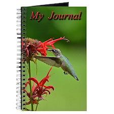 Hummingbird And Bee Balm Journal