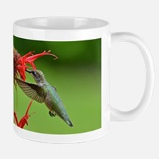 Hummingbird and bee balm Mug