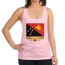 Papua New Guinea (Flag 10)2 Racerback Tank Top