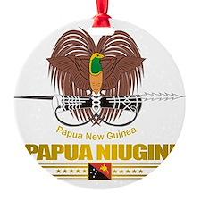 Papua New Guinea COA (Flag 10)2 Ornament