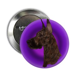 """Brindle Great Dane 2.25"""" Button (10 pack)"""