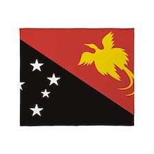 Papua NG (Laptop Skin) Throw Blanket