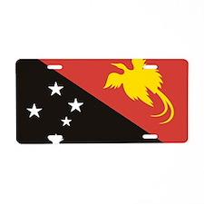 Papua NG (Laptop Skin) Aluminum License Plate