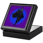 Black Great Dane Keepsake Box