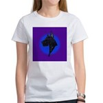 Black Great Dane Women's T-Shirt