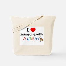 Unique Pro autistic Tote Bag