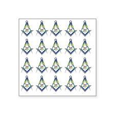 "OES SC Shower copy Square Sticker 3"" x 3"""