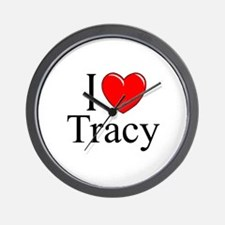 """""""I Love Tracy"""" Wall Clock"""