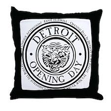 detop_black Throw Pillow