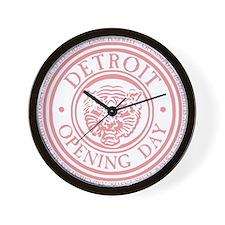 detop_pink Wall Clock