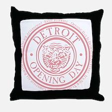 detop_pink Throw Pillow